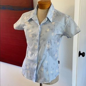 Patagonia button front dandelion style shirt